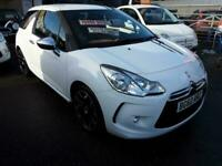 2010 Citroen DS3 1.6 HDi Black 3dr HATCHBACK Diesel Manual