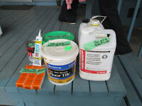 FLOORING GLUE SUPPLIES FOR SALE