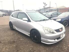 2004/04 Honda Civic 2.0i-VTEC ( a/c ) Type R FULL MOT EXCELLENT RUNNER