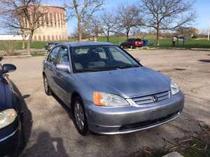 2002 Honda Civic Sedan - Certified and Emissions Tested! $2500!