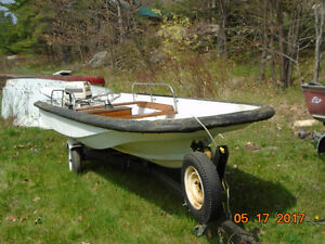 15' boston whaler w 35hp motor