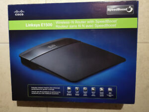 Linksys E1500 Wireless Router