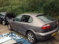 2003 Seat Leon for parts breaking