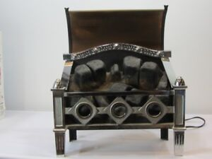 Magicoal electric fires electric coal fireplace, heater, vintage