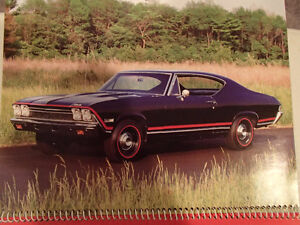 New 2002 GEAT AMERICAN CARS 12 Month CALENDAR. Issued by AKZO NO Sarnia Sarnia Area image 5