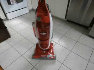one Eureka capture vacuum cleaner works well left by old owner