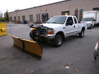 1999 Ford F-250 Super Duty 4x4 With Plow