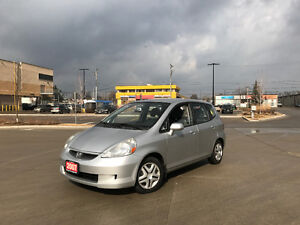 2007 Honda Fit Only 110000km, 4 door, Gas saver, Warranty availa