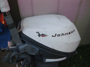 9.5 JOHNSON 2 CYCLE OUTBOARD - GREAT LITTLE MOTOR