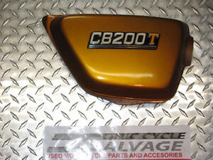 1972-73 honda cb-200t gold r.s.cover