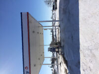 Husky gas station with property for sale