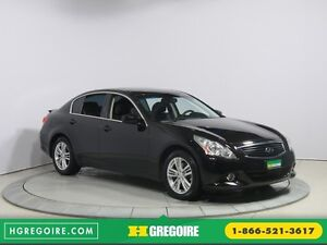 2013 Infiniti G37  AWD AUTO CUIR TOIT NAVIGATION MAGS