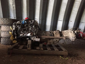 2007 Duramax 2500 HD Transmission AND Engine