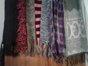 10 Scarves for $1 each