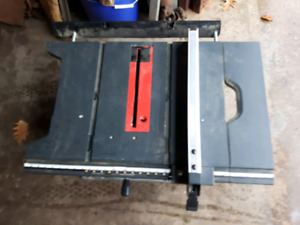Table Saw without Motor