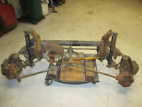 1970 to 73 VW Bus Front beam with disc brakes