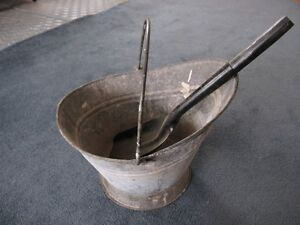 Antique Coal Bucket St. John's Newfoundland image 2
