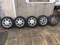 "5 x 14"" ford alloys"