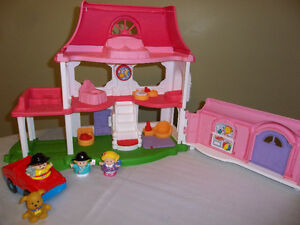 Fisher Price Little People Play House with Sound Effects