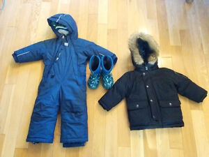Boys winter clothing MEC BOGS GAP Peterborough Peterborough Area image 1