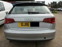 2016 Audi A3 2.0TDI Nav Sportback S Tronic Sport BREAKING SPARES PARTS
