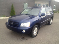 2002 Toyota Highlander LIMITED FULL EQUIP EXCELLENTE CONDITION