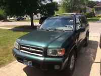 REDUCED - 2001 Nissan Pathfinder LE - $1250 OBO