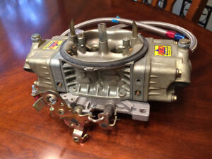 Holley 750 cfm 4150 HP Carburetor Gasoline with hoses+gage