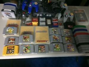 N64, Accessories and Games