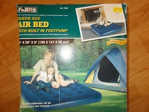 AIR MATTRESS NEW QUEEN and DOUBLE