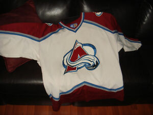 STARTER-AVALANCHE COLORADO-HOCKEY-CHANDAIL/SHIRT