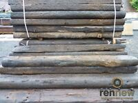 Reclaimed Softwood Garden Railway Sleepers | Grade B | 2.6 x 240 x 140