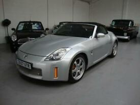 Nissan 350Z 3.5 V6 Roadster GT Pack 2007 Silver, Black Leather, Genuine 52k FSH