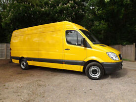 Mercedes Sprinter 2.1 313 ** LWB 4 Metre ** HIGH ROOF 6 speed 2012/61 1 OWNER