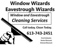 Window Cleaning. Eavestrough Cleaning Services