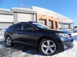 Toyota Venza LIMITED, AWD, V-6, CUIR, TOIT PANO, MAG 20 P 2014