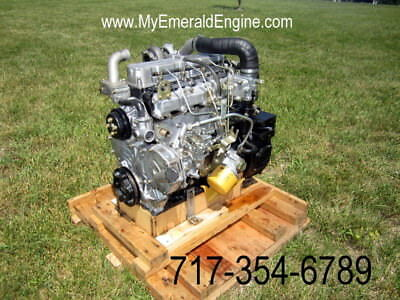 Caterpillar C3.4 --- Cat Skid Steer Engine -- Built To Fit With No Changes