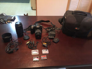 Sony a200 Digital SLR Camera with Accessories