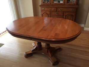 MOVING SALE - Beautiful Solid Birch Dining Table