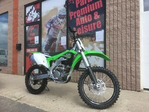 New 2017 Kawasaki KX250F for only $69 Bi-Weekly