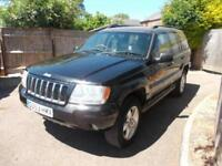 2004 Jeep Grand Cherokee 2.7 CRD auto Overland - A/C, SUNROOF, FSH