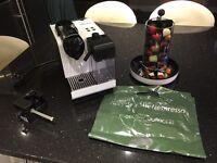 Nespresso Latissima Plus White Coffee Machine and Extras