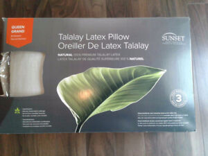 Talalay foam pillow - queen size