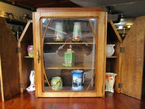 GRAMAS ESTATE 1930S ART DECO CHINA CABINET / HUTCH Moose Jaw Regina Area image 3