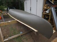 16' Fibreglass canoe- ready for the water