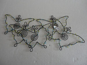 Brand new with tags Ganz hanging metal butterfly decor London Ontario image 2