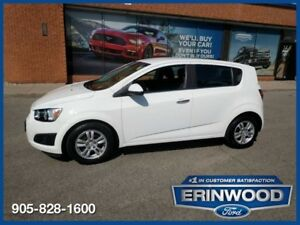2012 Chevrolet Sonic LTPWR GRP / BLUETOOTH / ALLOYS