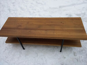 Coffee Table Thick Wood