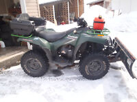 2006 750 Brute Force with Plow
