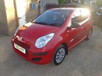 2013 Suzuki Alto SZ 1.0 Petrol 5 Door in Red FSH FREE Warranty & 12 Months MOT